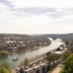 La Meuse et Jambes vues de la citadelle