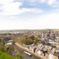 La Sambre et Namur, vues de la citadelle